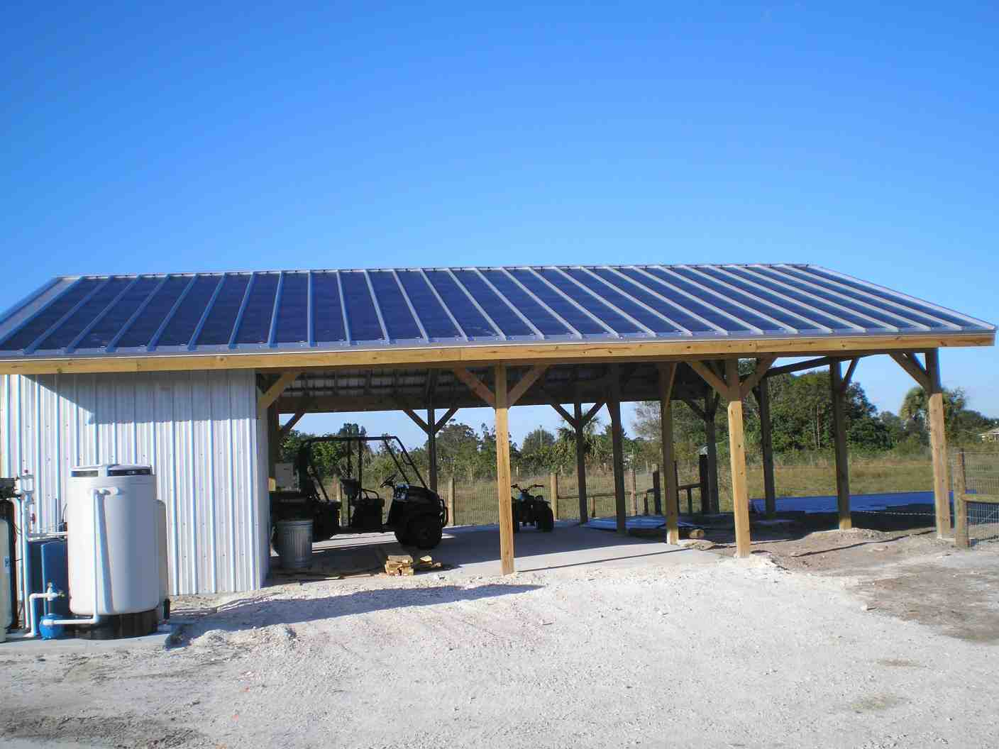 storage building kits steel amp metal hansen pole buildings